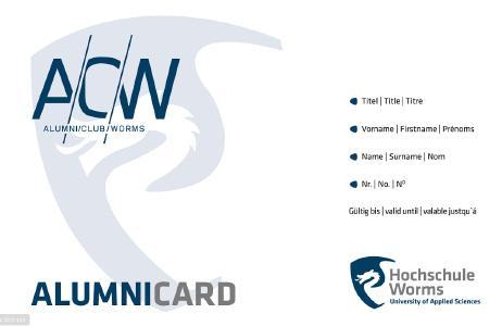 Die AlumniCard bietet ehemaligen Studierenden vielfältige Angebote und Vergünstigungen (Foto: Hochschule Worms)