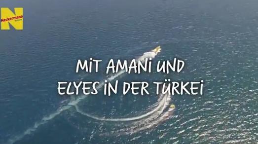 Urlauben mit Amani und Elyes in der Türkei