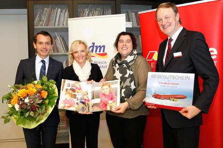Pressefoto CEWE 30 Mio CEWE FOTOBUCH Verleihung