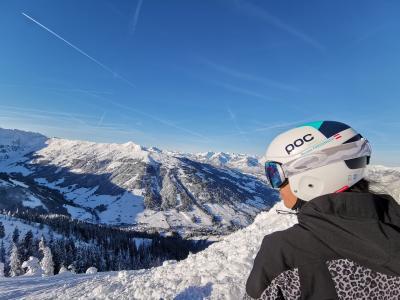 Schönes 360° Rundblick vom Skigebiet Schatzberg  Wildschönau Tourismus FG T. Lerch