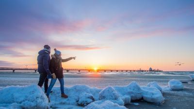 Die Ostsee Schleswig-Holstein steht für eine kleine, entspannende Winterauszeit am Meer Copyright: www.ostsee-schleswig-holstein.de / Oliver Franke
