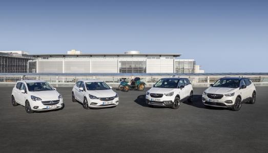 """Happy Birthday: Top-ausgestattete Opel-Sondermodelle """"120 Jahre""""-Automobilbau ab sofort bestellbar"""