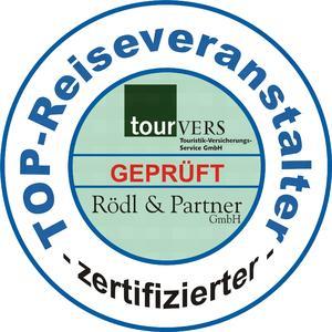 TOP-Reiseveranstalter Siegel für Karawane Reisen