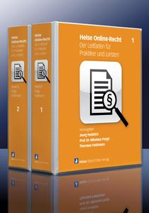 """Das Titelbild von """"Heise Online-Recht"""""""