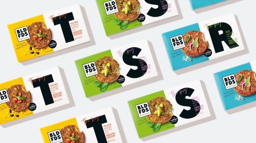Bold Foods - Burger mit Insektenprotein im Design von HAJOK