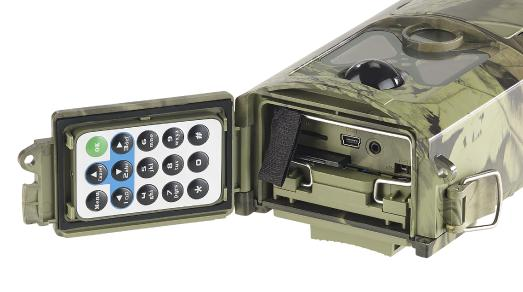 NX-4376 VisorTech Full-HD-Wildkamera mit Bewegungserkennung Nachtsicht