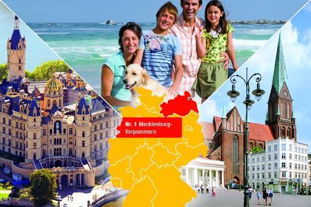 Das reizvollste Kurzurlaubsziel der Deutschen ist Mecklenburg-Vorpommern