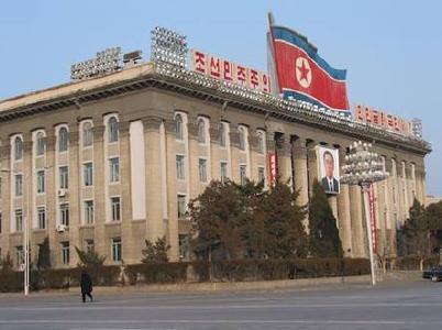 Kim-Il-sung-Platz, Pjöngjang/Nordkorea  © Foto: Herbert Bodenmann/APD