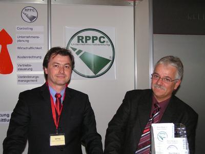 Popp und Heuberger bei Integration RPPC Juni 07