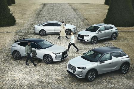 CO2-absorbierende Modekollektion von DS Automobiles