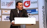Mario Ohoven, Präsident des Bundesverband mittelständische Wirtschaft (BVMW).