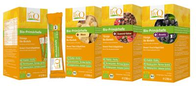 livQ Bio-Primärhefe - Varianten flüssige Bio-Bierhefe mit natürlichen B-Vitaminen