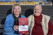 Buergerpreis Blauhaus Ilse Burfeind und Gerd Wittenburg