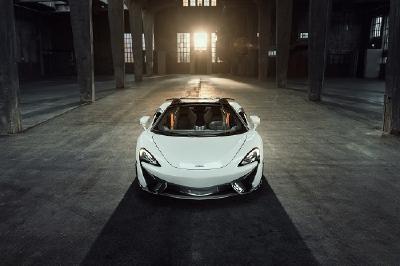 NOVITEC veredelt den McLaren 570S Spider und setzt auf Pirelli P Zero Nero GT