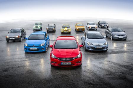Opel Astra 5 door