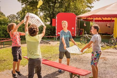Sommerferienprogramm Campingplatz Klausenhorn / Bildnachweis: MTK Dagmar Schwelle