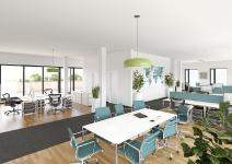 "Regus leases 2,000 m² in the ""GIRO"" project from PROJECT Immobilien Gewerbe AG"