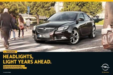 Opel präsentiert sich weltweit mit einem neuen Markenauftritt und neuem Kommunikationsdesign. Den Auftakt der internationalen Zusammenarbeit mit der neuen Lead- Agentur Scholz & Friends macht die Kampagne für das Modell-Flaggschiff Opel Insignia. In Deutschland startet die Kampagne am 28. Mai
