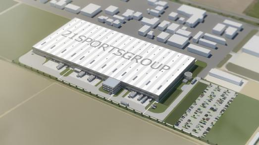 21sportsgroup errichtet neues Logistikzentrum in Ketsch