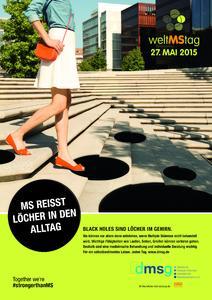 Plakat Welt MS Tag 2015