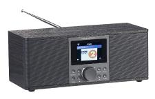 VR-Radio Stereo-Internetradio IRS-670 mit DAB+, FM, Bluetooth, Wecker, 32 Watt, schwarz