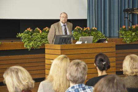 Kongress-Organisator Prof. Dr. Christoff Zalpour