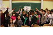 Münchner Schüler*innen lieben den Frühstücksklub der Deutschen Lebensbrücke