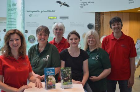 Von links nach rechts: Alicja Wiatr, Christine Helms, Martina Sonnabend, Annika Bolte