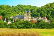 Kloster Schöntal, Bildquelle: Arbeitsgemeinschaft Kocher-Jagst-Radweg, Andi Schmid
