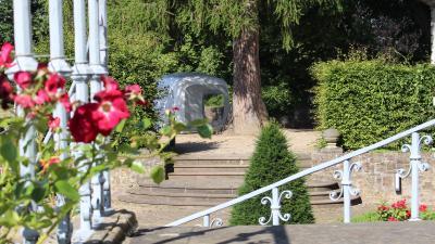 Sleeperoo Cube auf der Schlossinsel Bad Pyrmont