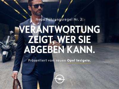 Weitblick: Als echter Teamplayer kommt man weiter – der neue Opel Insignia zeigt, wie's geht