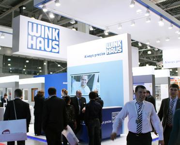 Über eine große Resonanz freuten sich die Winkhaus Fachberater auf der Messe Buildex 2013 / Foto: Winkhaus