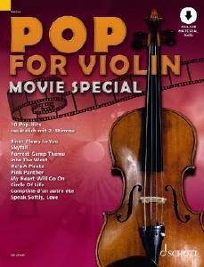 Schott ED23489 Pop for Violin Movie Special