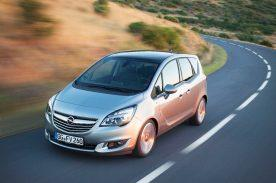 Successful van: The ergonomically exemplary Opel Meriva led its segment in 2015