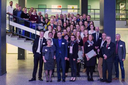 58 Absolventinnen und Absolventen wurden bei den StudyUp-Awards für ihre herausragenden Leistungen ausgezeichnet, Foto: Daniela Rösler