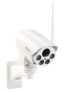 7links PTZ-Full-HD-IP-Überwachungskamera, WLAN, Nachtsicht, 5x-Zoom, IP66