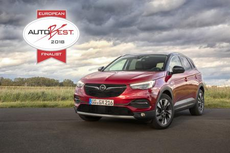 European AUTOBEST 2018 Finalist: The new Opel Grandland X has impressed the jury and been included in the final six