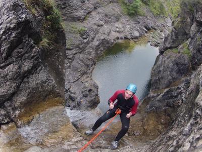 Canyoning Touren im Allgäu