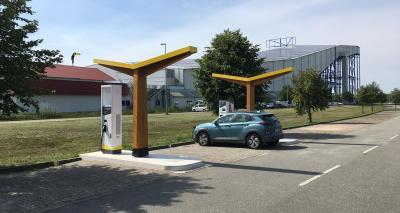 Fastned eröffnet Schnellladestation am Van der Valk Hotel Hamburg-Wittenburg