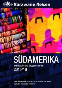 Karawane Südamerika Katalog 2015