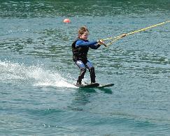 Wasserski fahren ist schnell erlernt!