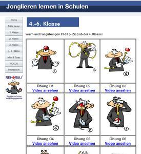 www.Jonglierschule.de/Schulprojekt