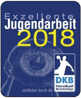 Der HC Erlangen wurde wieder von der DKB Handball-Bundesliga ausgezeichnet, Grafik: DKBHBL
