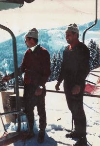 Alter Sessellift auf den Schatzberg