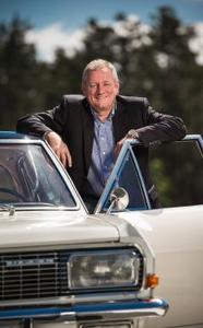 Vorstand und Admiral: Opel-Vertriebschef Peter Christian Küspert und sein Admiral A