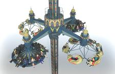 Huss Park Attractions installs 'world first' Hybrid Condor at Tivoli Gardens