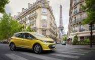 Exhibition star: The new Opel Ampera-e is celebrating its world premiere at the Paris Motor Show
