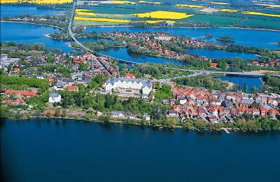 Luftaufnahme Plön, Holsteinische Schweiz