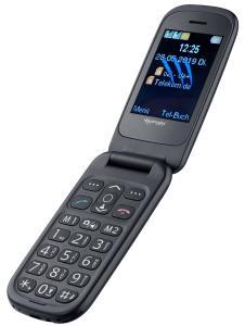 simvalley MOBILE Notruf-Klapphandy XL-949 mit Garantruf Easy, Dual-SIM und Bluetooth