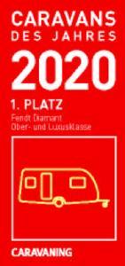 Diamant- Caravan des Jahres 2020 in der Ober- und Luxusklasse